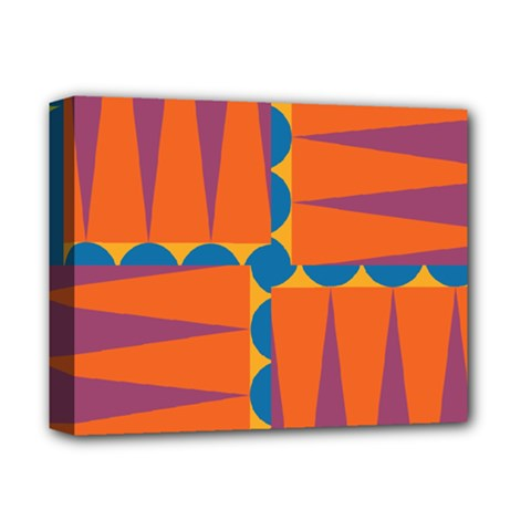 Angles Deluxe Canvas 14  X 11  (stretched) by LalyLauraFLM