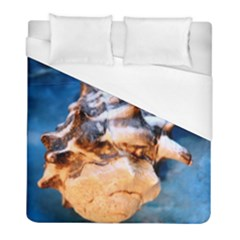 Sea Shell Spiral Duvet Cover Single Side (twin Size) by timelessartoncanvas