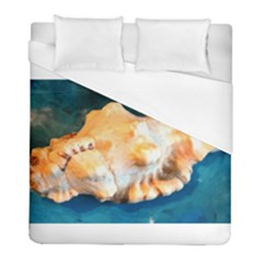 Sea Shell Spiral 2 Duvet Cover Single Side (twin Size) by timelessartoncanvas