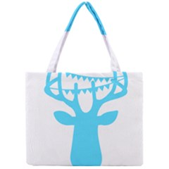 Party Deer With Bunting Tiny Tote Bags by CraftyLittleNodes