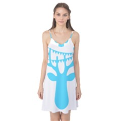 Party Deer With Bunting Camis Nightgown