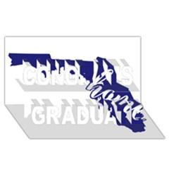Florida Home  Congrats Graduate 3d Greeting Card (8x4)