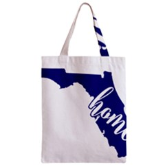 Florida Home  Zipper Classic Tote Bags by CraftyLittleNodes