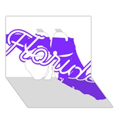 Florida Home State Pride Clover 3d Greeting Card (7x5)