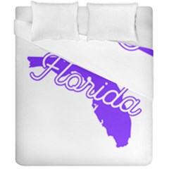 Florida Home State Pride Duvet Cover (double Size) by CraftyLittleNodes