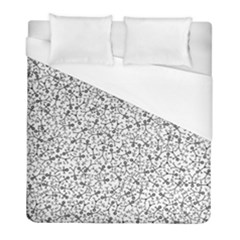 Crowd Icon Random Duvet Cover Single Side (twin Size) by thisisnotme