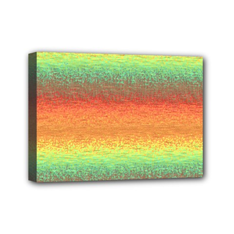Gradient Chaos Mini Canvas 7  X 5  (stretched) by LalyLauraFLM