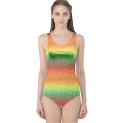 Gradient Chaos Women s One Piece Swimsuit by LalyLauraFLM