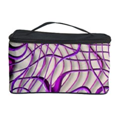 Ribbon Chaos 2 Lilac Cosmetic Storage Cases by ImpressiveMoments