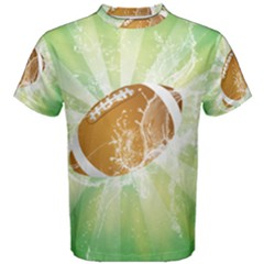 American Football  Men s Cotton Tees by FantasyWorld7