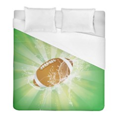 American Football  Duvet Cover Single Side (twin Size) by FantasyWorld7