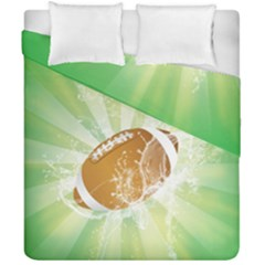 American Football  Duvet Cover (double Size) by FantasyWorld7