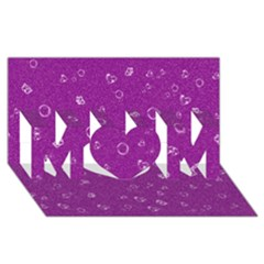 Sweetie,purple Mom 3d Greeting Card (8x4)  by MoreColorsinLife