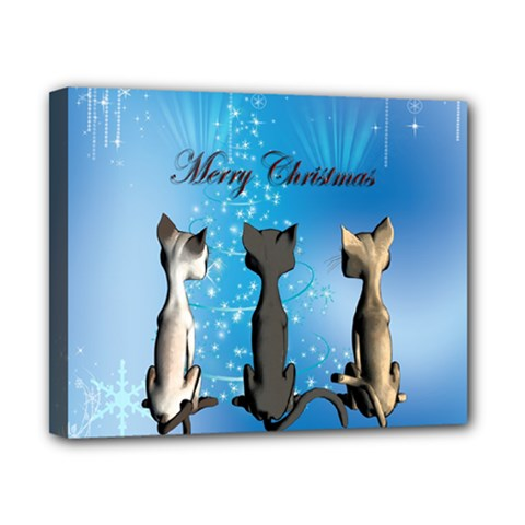Merry Chrsitmas Canvas 10  X 8  by FantasyWorld7