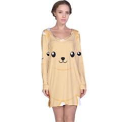 Kawaii Cat Long Sleeve Nightdresses by KawaiiKawaii