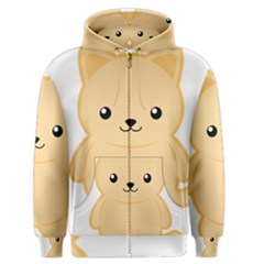 Kawaii Cat Men s Zipper Hoodies by KawaiiKawaii