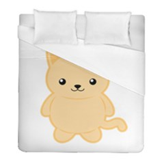 Kawaii Cat Duvet Cover Single Side (twin Size) by KawaiiKawaii