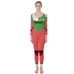 Kawaii Tomato Long Sleeve Catsuit by KawaiiKawaii