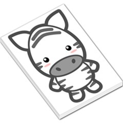 Kawaii Zebra Large Memo Pads by KawaiiKawaii
