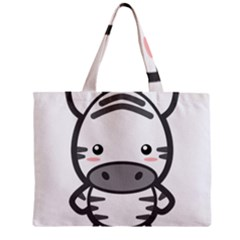 Kawaii Zebra Tiny Tote Bags by KawaiiKawaii