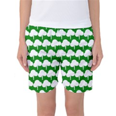 Tree Illustration Gifts Women s Basketball Shorts by creativemom