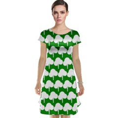 Tree Illustration Gifts Cap Sleeve Nightdresses