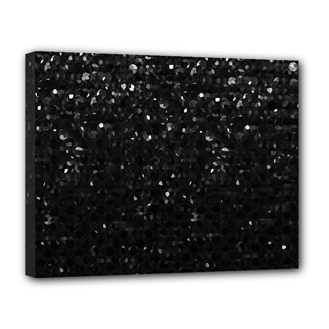 Crystal Bling Strass G283 Canvas 14  X 11  by MedusArt