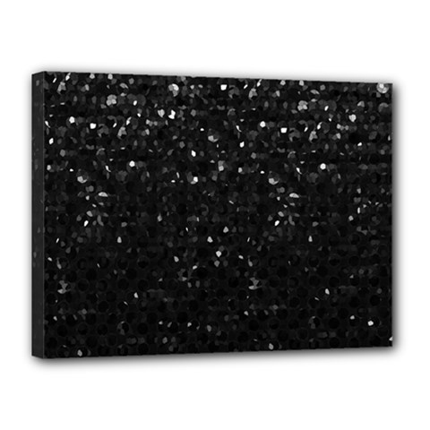 Crystal Bling Strass G283 Canvas 16  X 12  by MedusArt