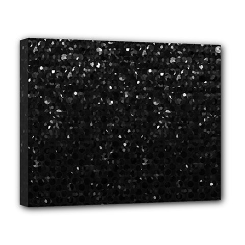 Crystal Bling Strass G283 Deluxe Canvas 20  X 16   by MedusArt