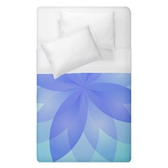 Abstract Lotus Flower 1 Duvet Cover Single Side (single Size) by MedusArt