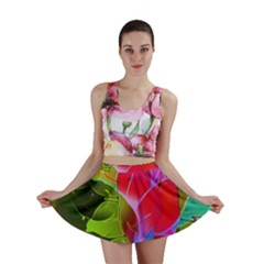 Floral Abstract 1 Mini Skirts by MedusArt