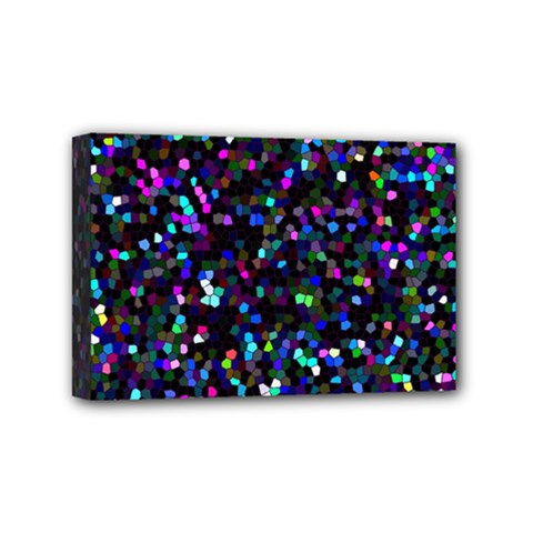 Glitter 1 Mini Canvas 6  X 4  by MedusArt