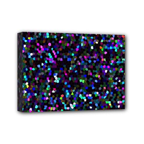 Glitter 1 Mini Canvas 7  X 5