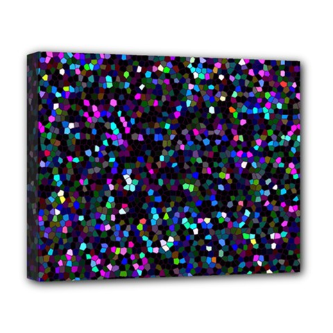 Glitter 1 Deluxe Canvas 20  X 16   by MedusArt