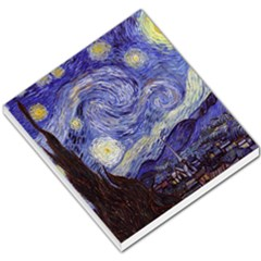 Van Gogh Starry Night Small Memo Pads by MasterpiecesOfArt