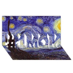 Van Gogh Starry Night #1 Mom 3d Greeting Cards (8x4)
