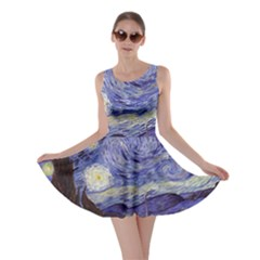 Van Gogh Starry Night Skater Dresses by MasterpiecesOfArt