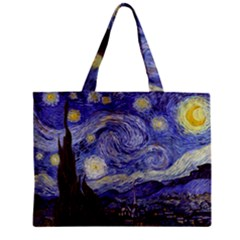 Van Gogh Starry Night Tiny Tote Bags by MasterpiecesOfArt