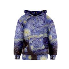 Van Gogh Starry Night Kid s Pullover Hoodies