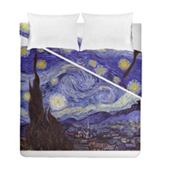 Van Gogh Starry Night Duvet Cover (Twin Size) by MasterpiecesOfArt