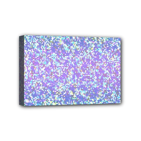 Glitter 2 Mini Canvas 6  X 4  by MedusArt