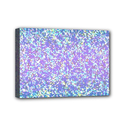Glitter 2 Mini Canvas 7  X 5  by MedusArt