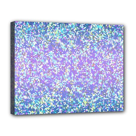 Glitter 2 Canvas 14  X 11  by MedusArt