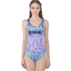 Glitter 2 Women s One Piece Swimsuits by MedusArt