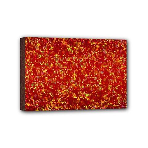 Glitter 3 Mini Canvas 6  X 4  by MedusArt