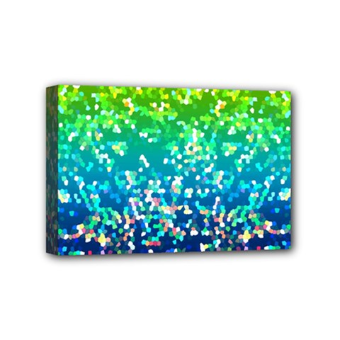 Glitter 4 Mini Canvas 6  X 4  by MedusArt