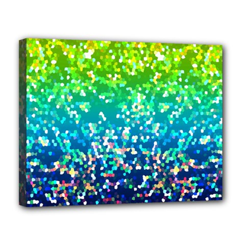 Glitter 4 Canvas 14  X 11  by MedusArt