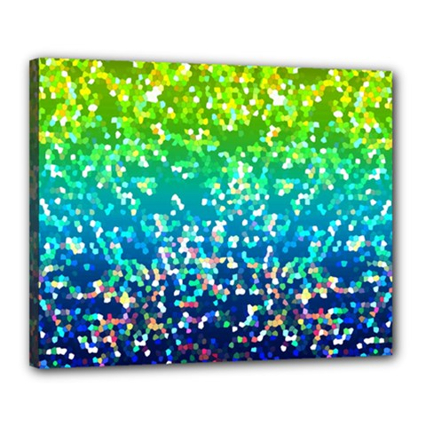 Glitter 4 Canvas 20  X 16  by MedusArt