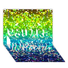 Glitter 4 You Are Invited 3d Greeting Card (7x5)  by MedusArt
