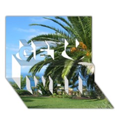 Sunny Tenerife Get Well 3d Greeting Card (7x5)